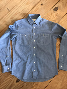 The California Shirt - Blue Everyday Chambray