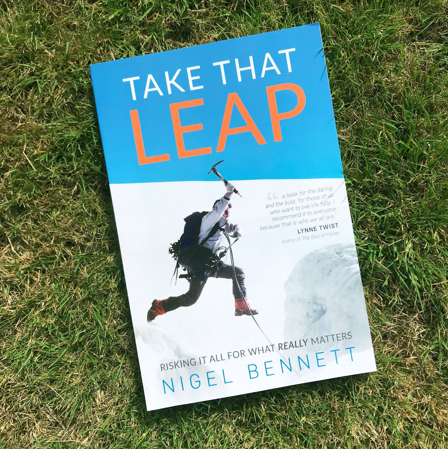 Take That Leap - by Nigel Bennett, BCIT alumnus