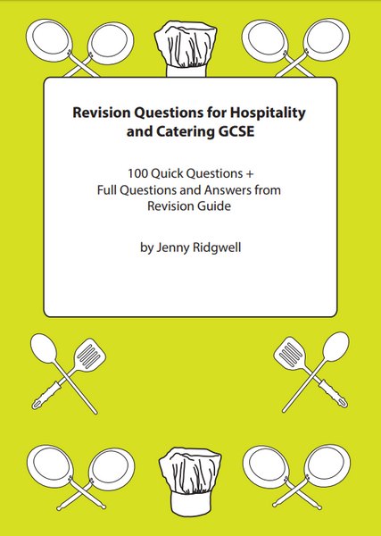 Revision Questions for Hospitality and Catering
