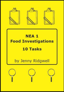 NEA 1 Food Investigations 10 Tasks