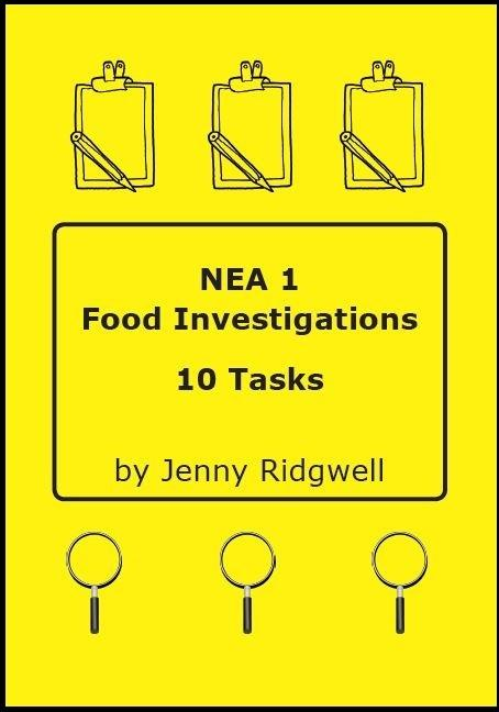 Food Investigation Task NEA1 Powerpoint and book