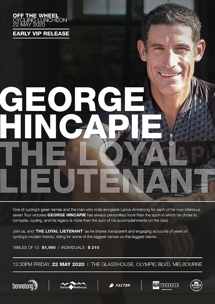 Hincape Luncheon: Friday 22nd May, Glasshouse