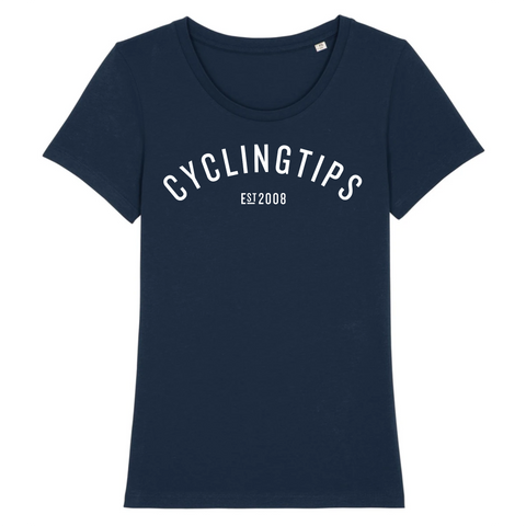 CyclingTips womens crew tee