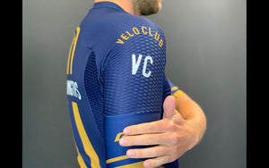 VeloClub Men's Short Sleeve Jersey (GOLD cut)