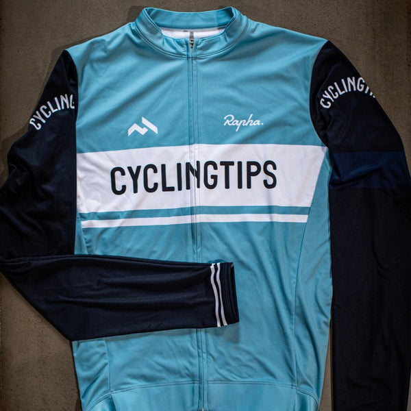 CyclingTips x Rapha Club Longsleeve Jersey (Womens)