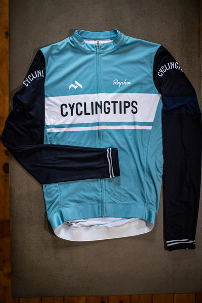 CyclingTips x Rapha Club Longsleeve Jersey (Mens)
