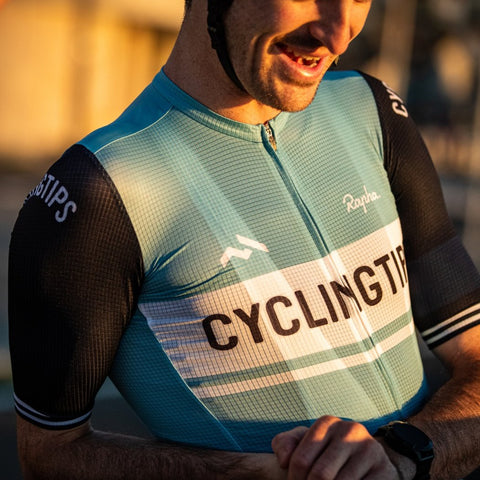 CyclingTips x Rapha Pro Team Flyweight Jersey (Mens)