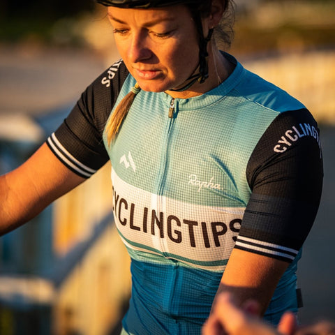 CyclingTips x Rapha Pro Team Flyweight Jersey (Womens)