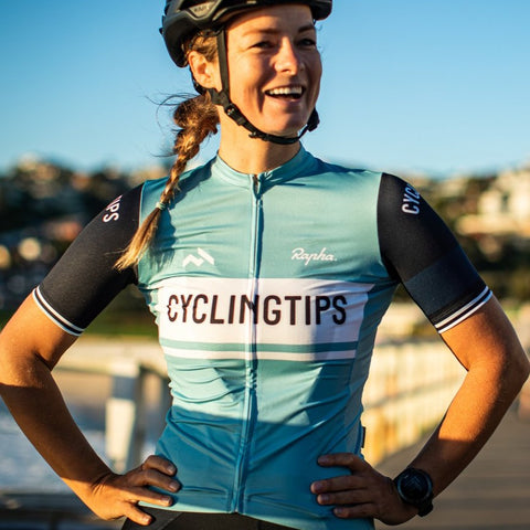 CyclingTips x Rapha Pro Team Midweight Jersey (Womens)
