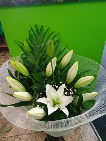 Luscious Lilies White available