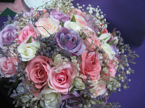 Artificial wedding posy