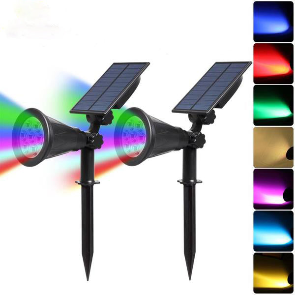 Solar Spotlight Waterproof Outdoor Solar Lamp