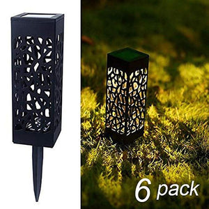 Square Solar Powered LED Waterproof Landscape Light