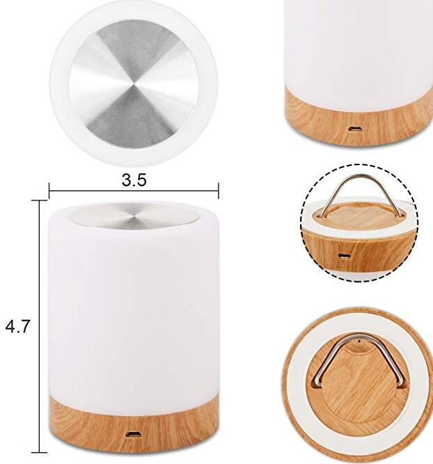 Touch Bedroom Bedside Lamp