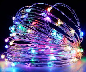 LED String Lights Fairy Holiday Christmas Party Garlands Solar Garden Waterproof Lights
