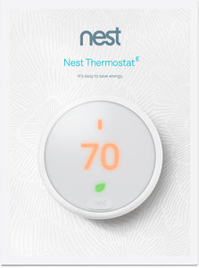 Nest Thermostat E | One Green Solution