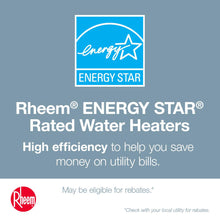 Load image into Gallery viewer, Rheem Performance Platinum 50 gal. Hybrid High Efficiency Smart Tank Electric Water Heater
