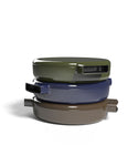 O-THP-23GN  ENAMELED CAST IRON PAN(GREEN)