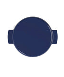 O-THP-23NV ENAMELED CAST IRON PAN (NAVY)