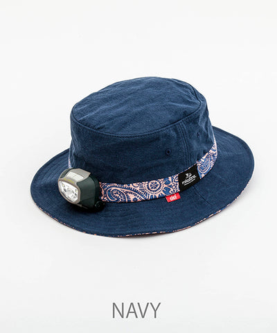 "MSC002-B4 ""Milestone x Clef"" Paisley Hat (High power wide irradiation light included)"