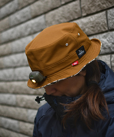 "MSC012 ""milestone × CLEF"" Bucket Hat + MS-G1 (300 lumen)"