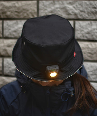 "MSC012 ""milestone × CLEF""Bucket Hat + MS-G2 (400 lumen)"