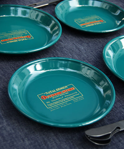 "NTLP012 ""NATAL DESIGN×Platchamp"" CURRY PLATE 23"