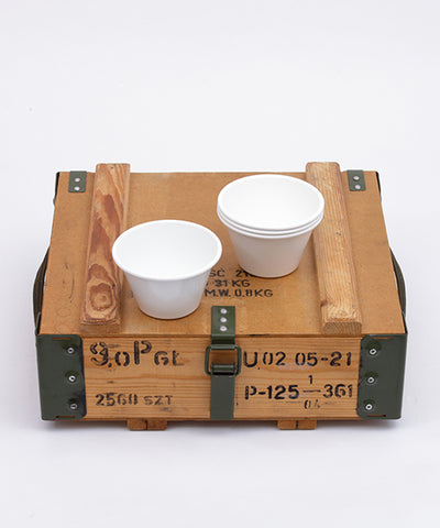 CEREAL BOWL 4PS SET + Military Box