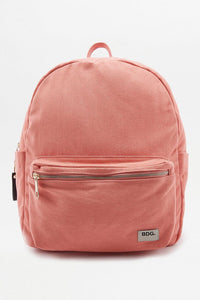 Urban Outfitters BDG Canvas Coral Backpack