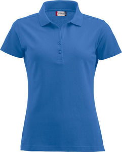 Clique Alba Royal Blue Womens Polo Shirt