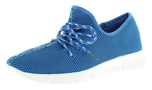 Wynsors Womens Remy Blue Lace Ups Casual Trainers/Pumps
