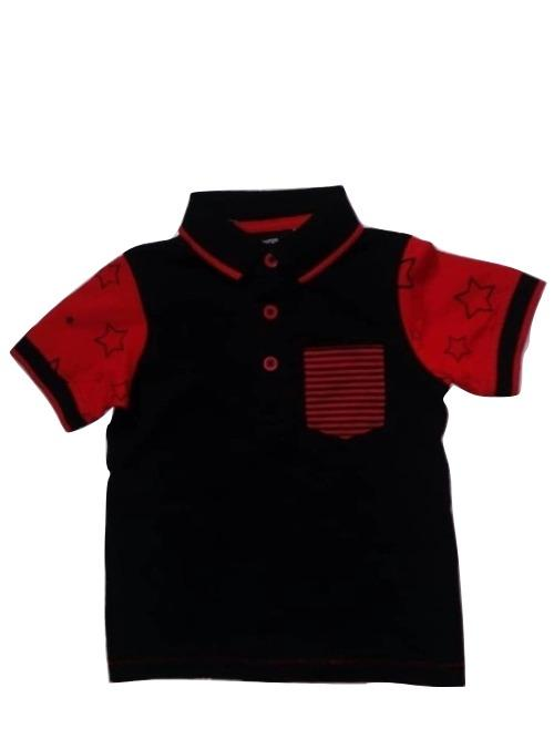 George Black Red Star Baby Boys Poloshirt