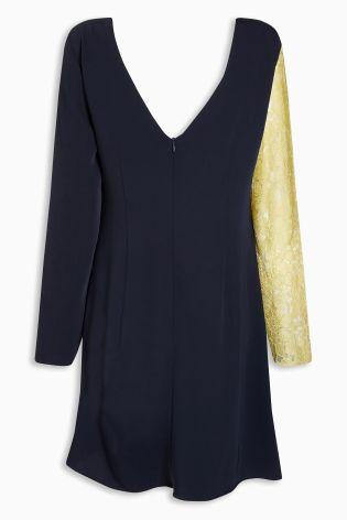 Next Lace Long Sleeve Dress - Stockpoint Apparel Outlet