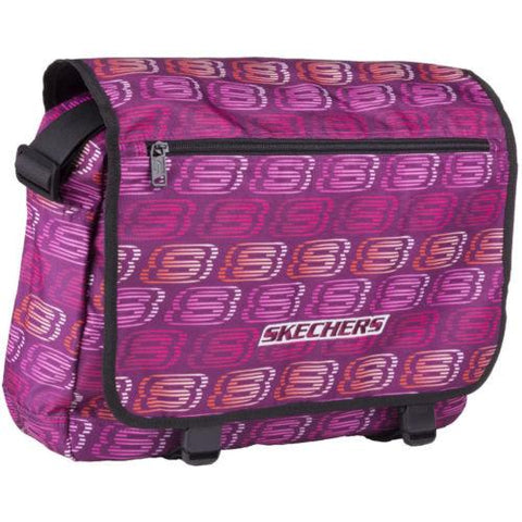 Skechers Original Messenger/ Laptop Travel Adjustable Shoulder Strap Unisex Bag - Stockpoint Apparel Outlet