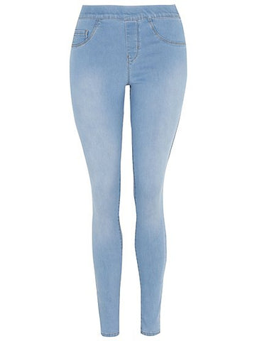 George Womens Light Blue Denim Jeggings