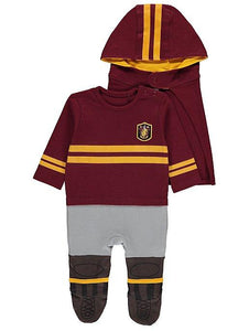 George Baby Boys Harry Potter Quidditch All-in-One with Hat and Hooded Cape