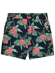 George Floral Detail Boys Shorts