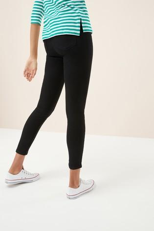 low cost special discount of 50-70%off Next Womens/Girls Black Denim Leggings