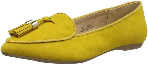 New Look 915 Letty Closed Ballet Tassel Womens / Girls Flats - Stockpoint Apparel Outlet