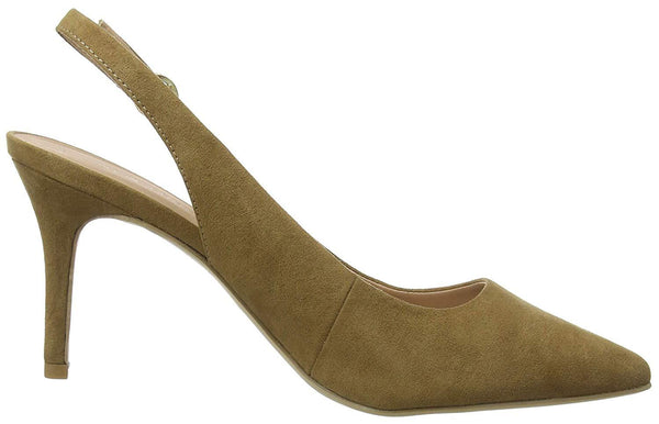 New Look Womens Closed Toe Brown Heels