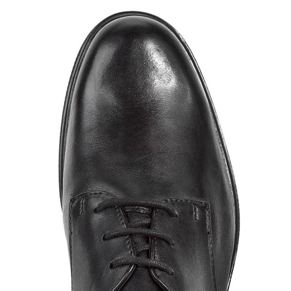Clarks Mens Gabson Walk Black Leather Shoes
