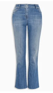 Next Blue Cropped Womens Jeans