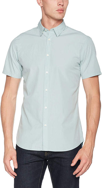 Selected 1 Homme Men's Shhonelouis Ss Casual Shirt - Stockpoint Apparel Outlet