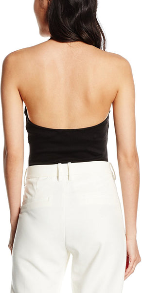 New Look Petite Women's Ponte Halter Body Tops - Stockpoint Apparel Outlet