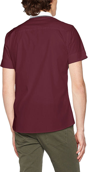 New Look Men's Hopsack Casual Shirt - Stockpoint Apparel Outlet