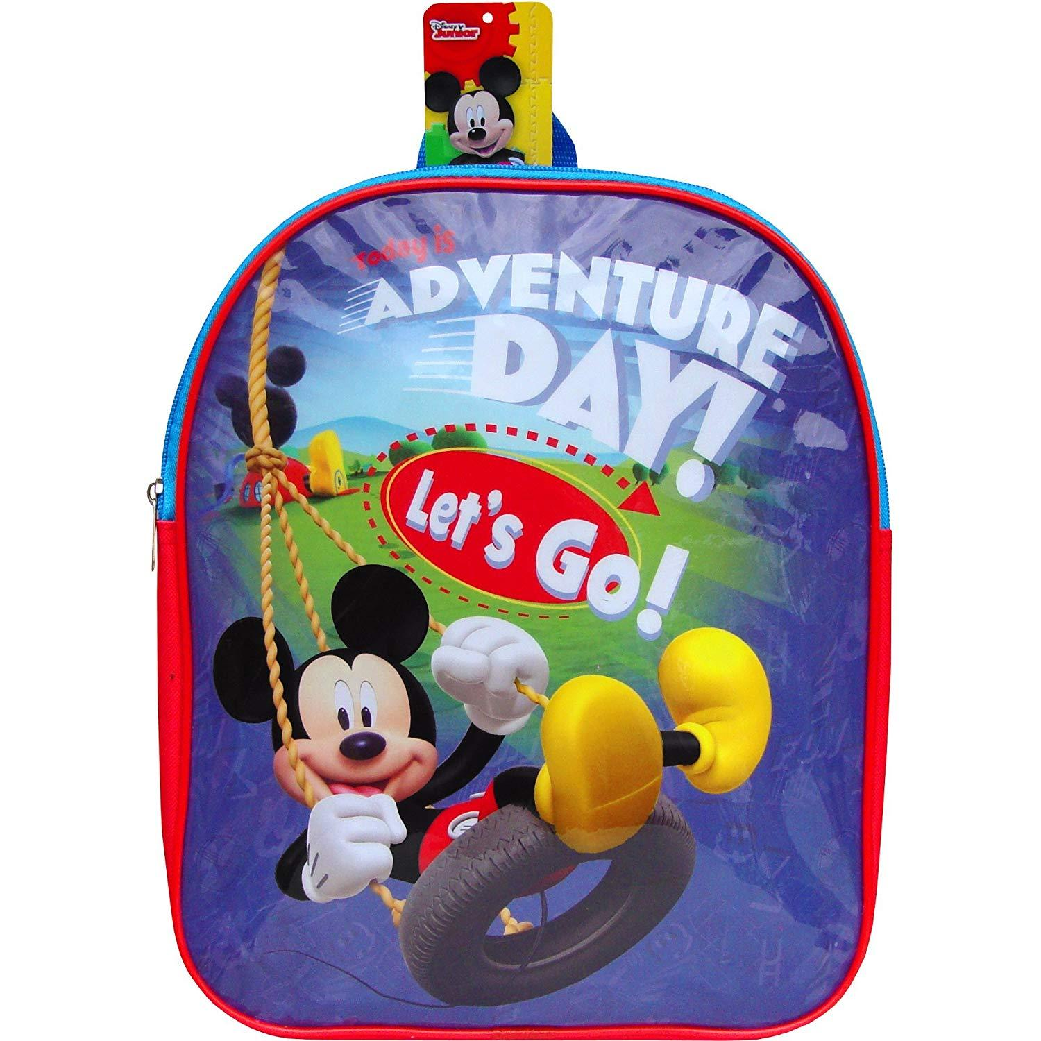 Disney Mickey Mouse Adventure Day School Backpack