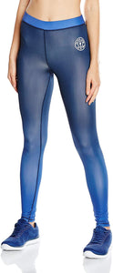 Gold's Gym Women's Ladies Gradient Printed Long Gym Sports Leggings - Stockpoint Apparel Outlet