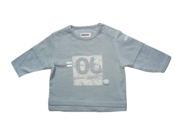 Mamas & Papas Blue Longsleeve T-Shirt - Stockpoint Apparel Outlet
