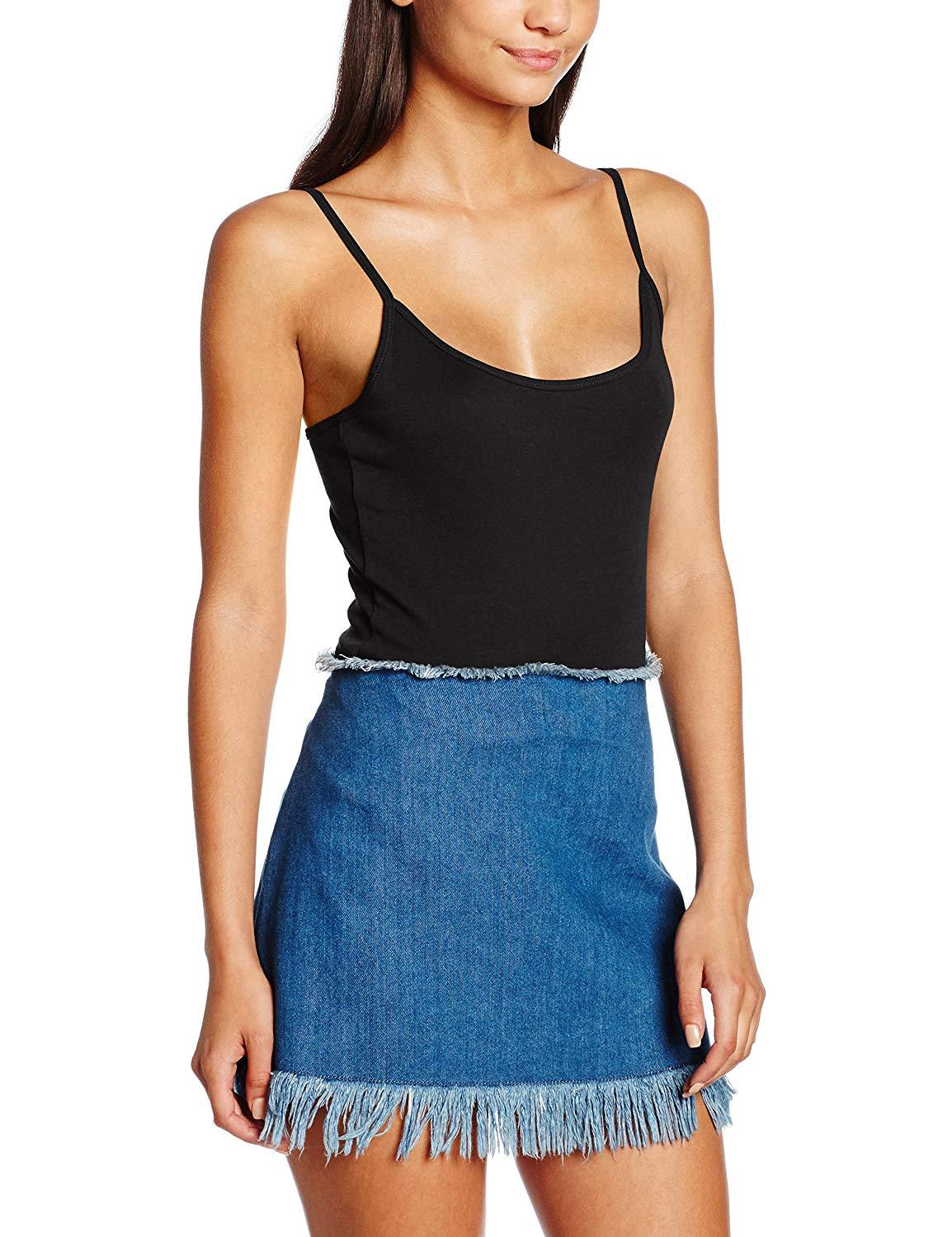 New Look Womens Shoestring Cami Top