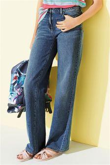 Next Mid Navy Blue Jeans - Stockpoint Apparel Outlet